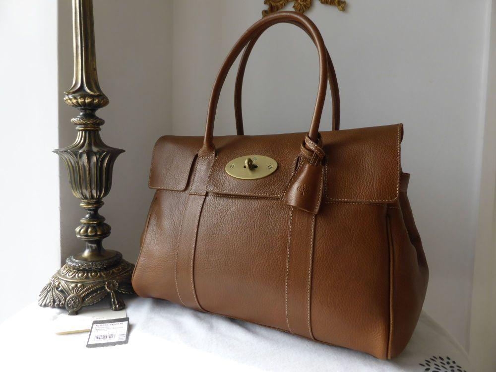 Mulberry Bayswater in Oak Natural Leather - As New*