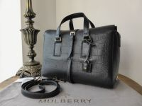 Mulberry Roxette Small in Midnight Blue Croc Printed Calfskin - New*