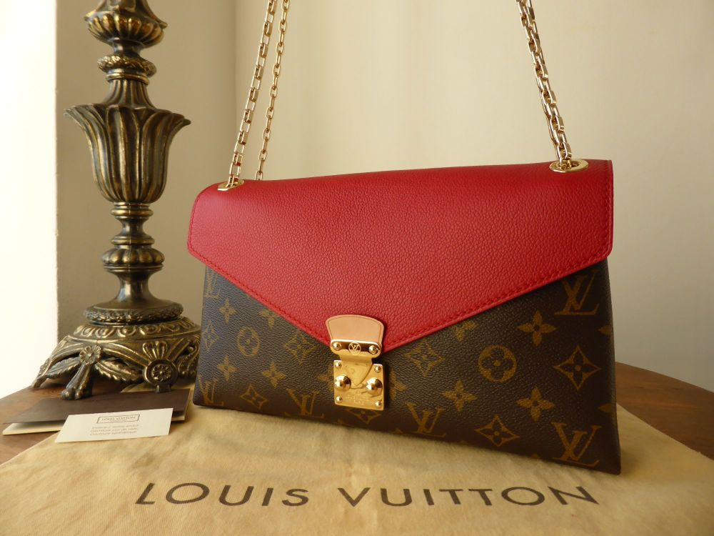 Louis Vuitton Pallas Chain in Monogram Cherry