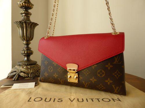 3e757c75fb78 Louis Vuitton Pallas Chain in Monogram Cherry - SOLD