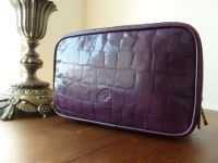 Mulberry Washbag in Violet Congo Leather