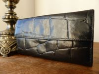 Mulberry Vintage Continental Purse in Black Congo Leather