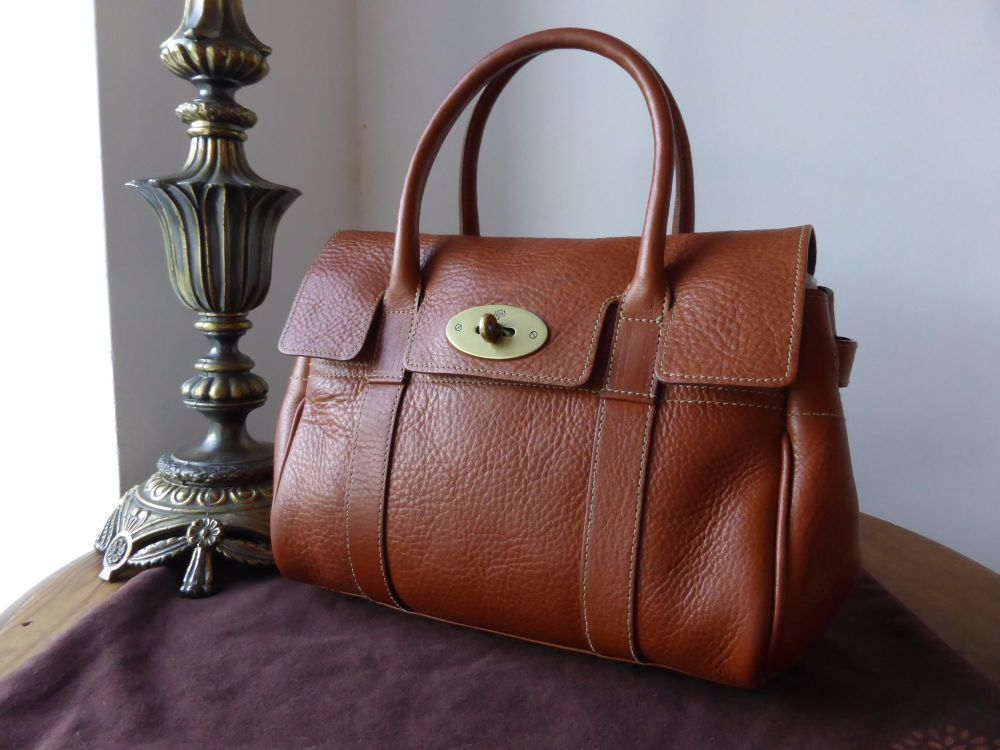 Mulberry Ledbury in Oak Natural Leather