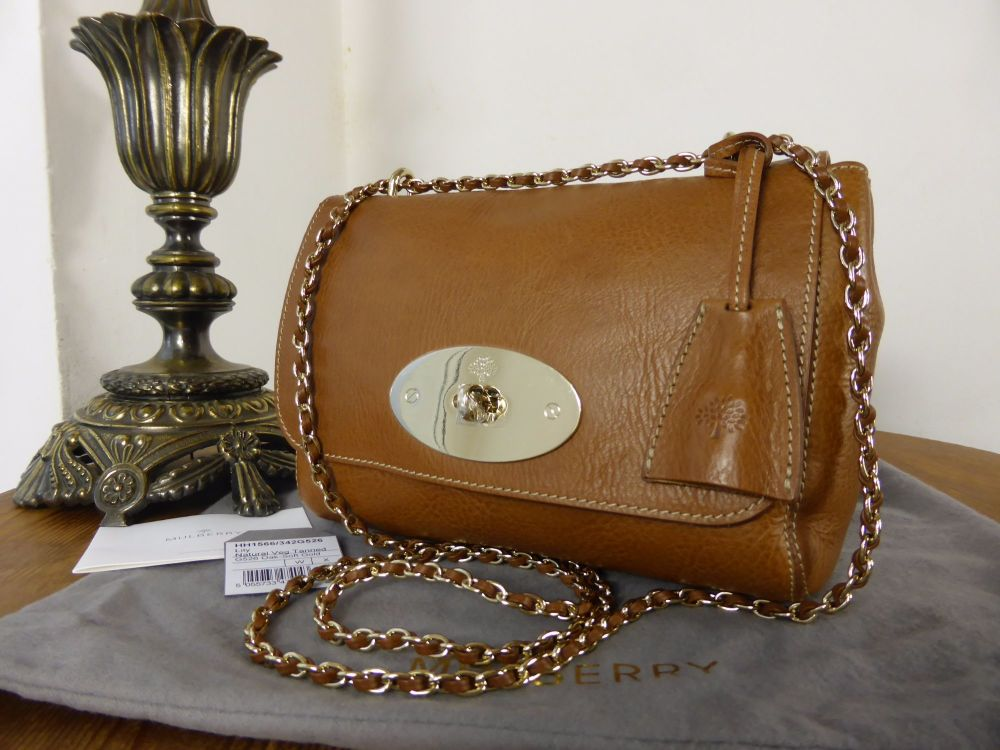 Mulberry Lily (Regular) in Oak Natural Leather - New