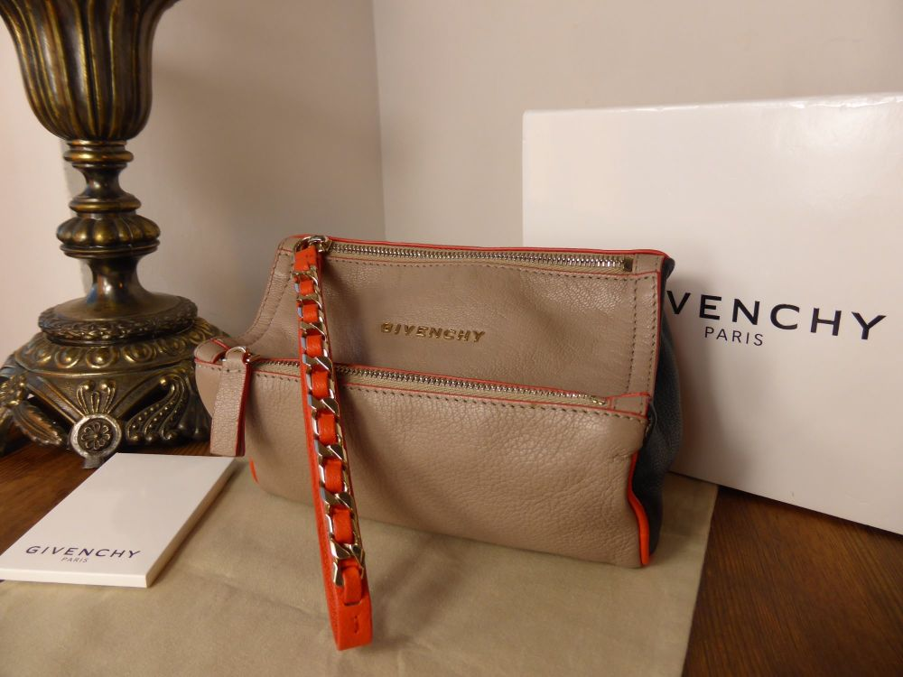 Givenchy Pandora Wristlet in Tricolore Goat Leather - As New*
