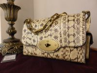 Mulberry Brooke in Natural Snakeskin