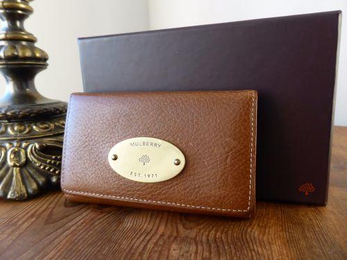 8669e84091 australia mulberry coin card purse in oak natural leather sold 2e0fa eb2cf