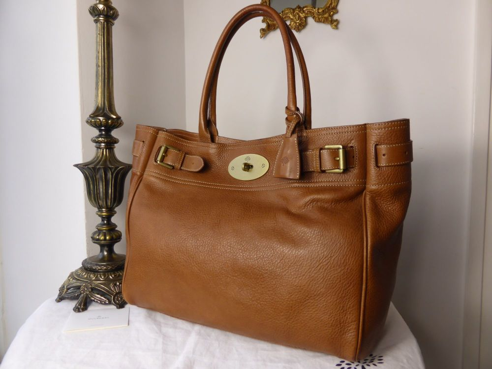 Mulberry Bayswater Tote in Oak Natural Leather