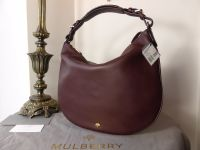 Mulberry Pembridge Hobo in Oxblood Soft Tan Leather - New*