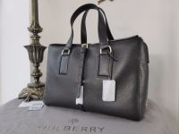 Mulberry Roxette (Larger Sized) in Black Calfskin - New