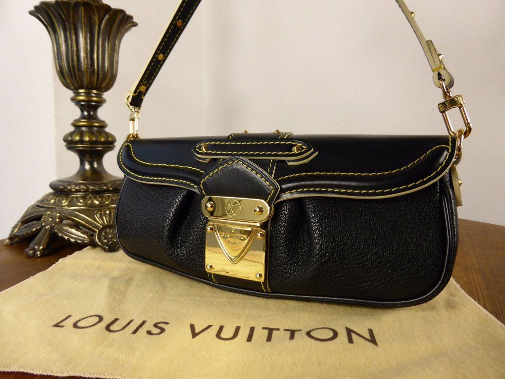 Louis Vuitton Le Precieux Suhali Black Goat Leather