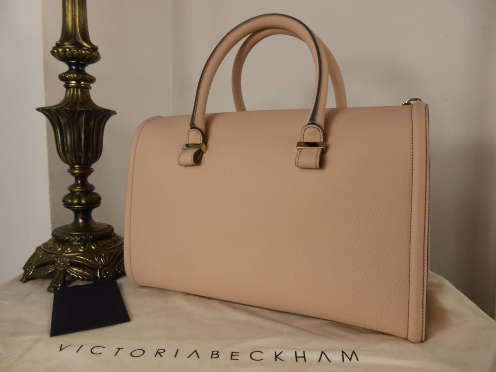 Victoria Beckham Tote in Blush Pink Grainy Buffalo - New*