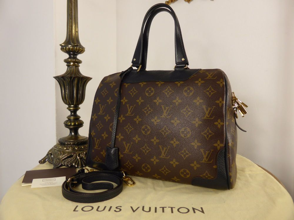Louis Vuitton Retiro in Monogram Noir