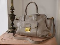 Miu Miu Large Tote in Pomice Vitello Soft  - New*