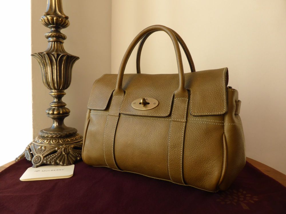 Mulberry Ledbury in Olive Darwin Leather