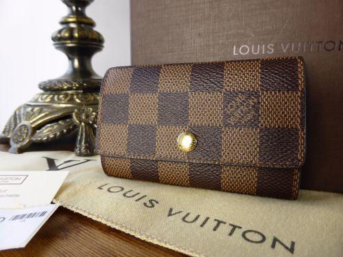 c31c765a5456 Louis Vuitton 6 Ring Key Holder in Damier Ebene - SOLD