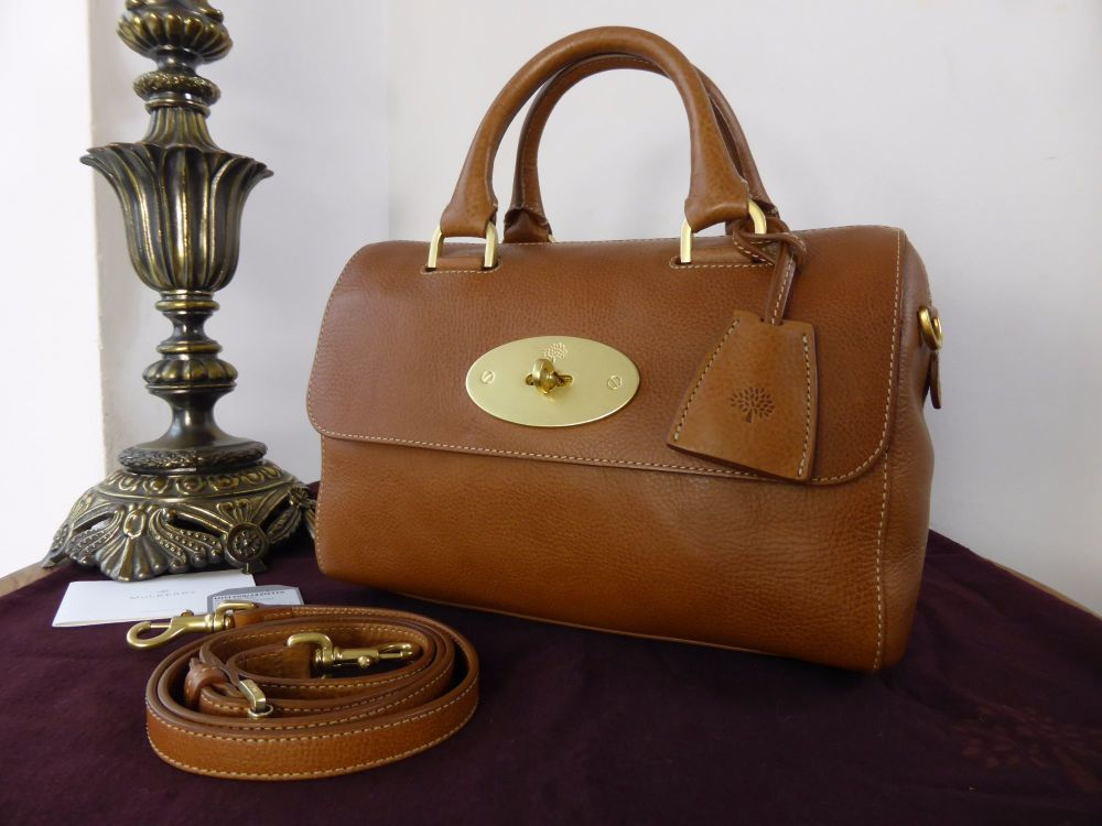 Mulberry Del Rey (Smaller Sized) in Oak Natural Leather