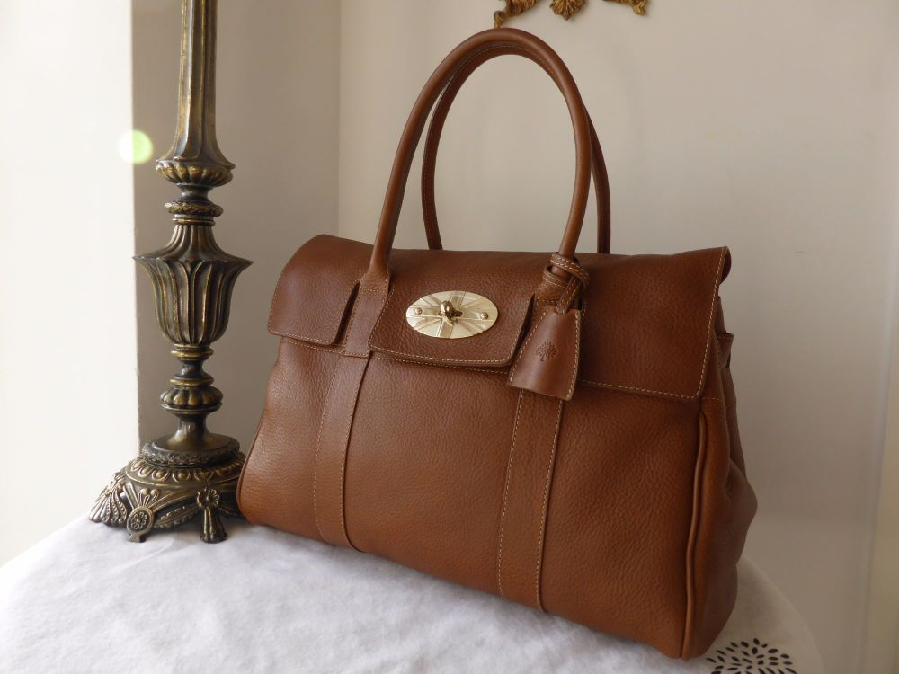 Mulberry Limited Edition Union Jack Bayswater in Oak Natural Leather