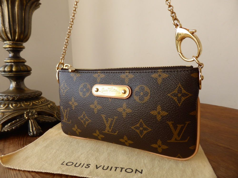 Louis Vuitton Milla Pochette in Monogram