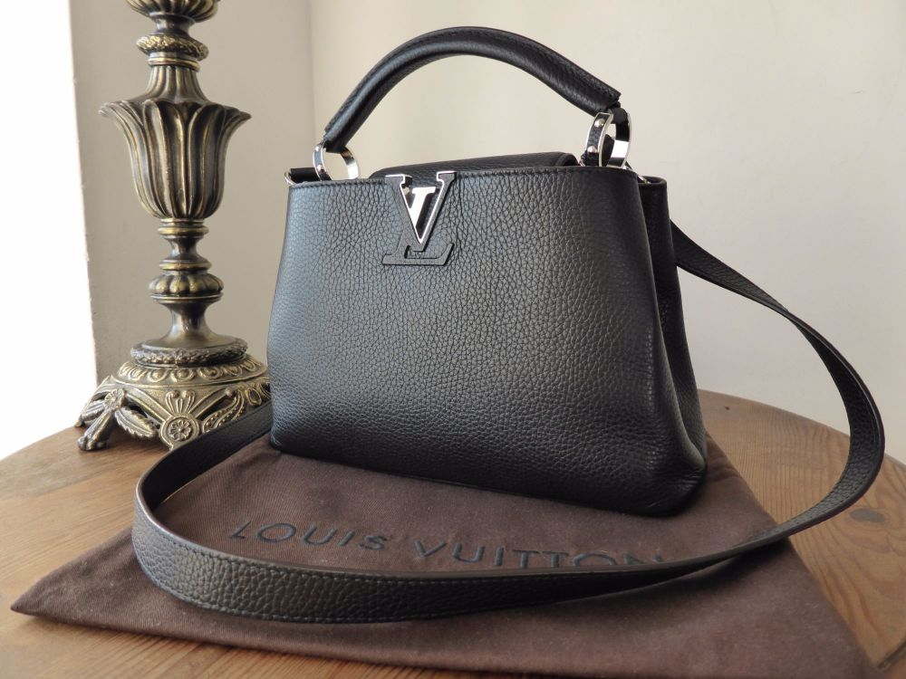Louis Vuitton Capucines BB Noir Grenade