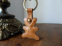 Mulberry Vintage Teddy Keyring in Blonde Oak Congo Leather