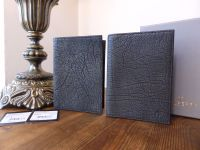 Mulberry Passport Covers in Black Soft Sheeps Leather - New (Selling as a Pair or individually)
