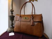 Mulberry Vintage Classic Bayswater in Oak Darwin Leather