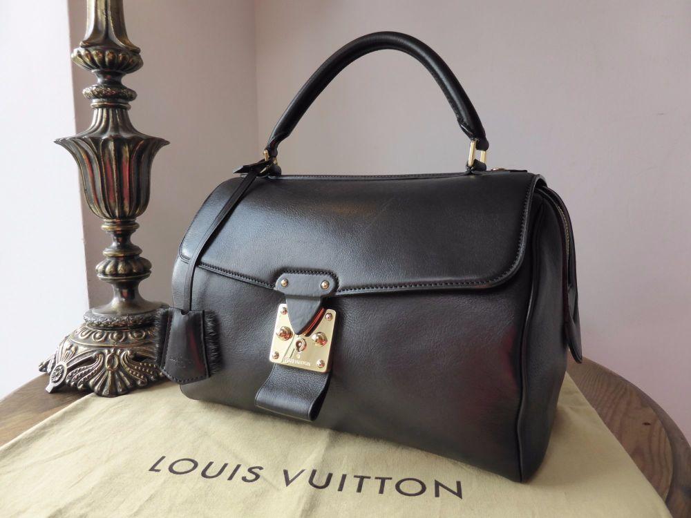 Louis Vuitton Les Extraordinaires Neo Speedy GM in Noir Cuir Orfèvre