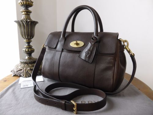 4776e3b1e4 ... brown lyst d0fe4 135c1; promo code for mulberry classic small bayswater  satchel in chocolate natural leather sold 34ca6 4a68d