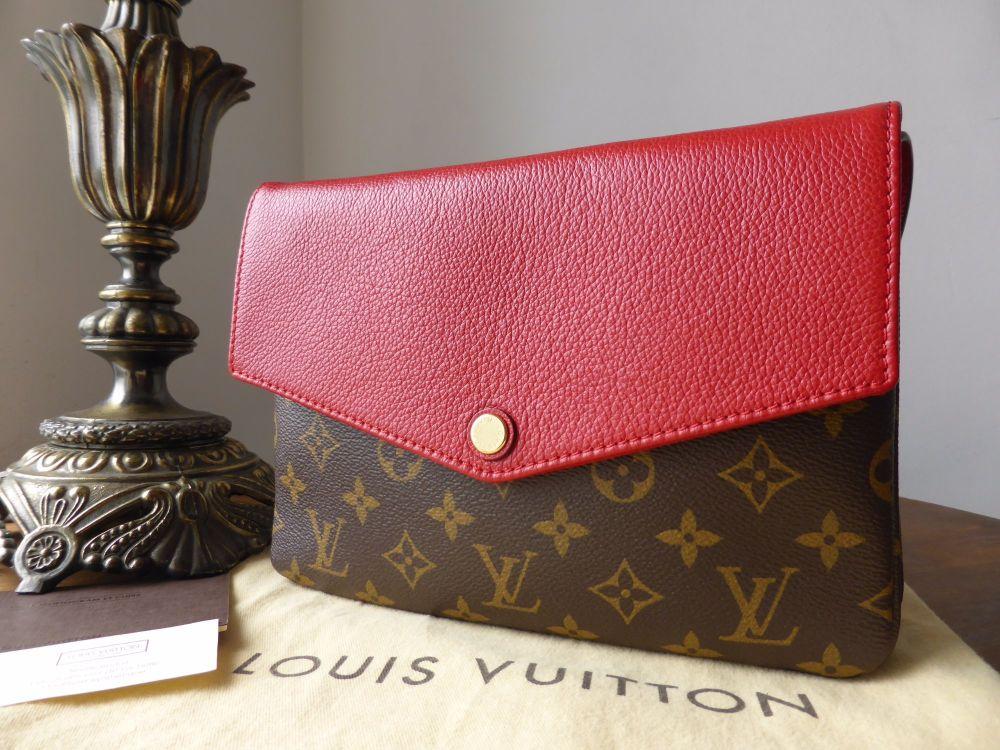 Louis Vuitton Twice in Monogram Cherry - New*