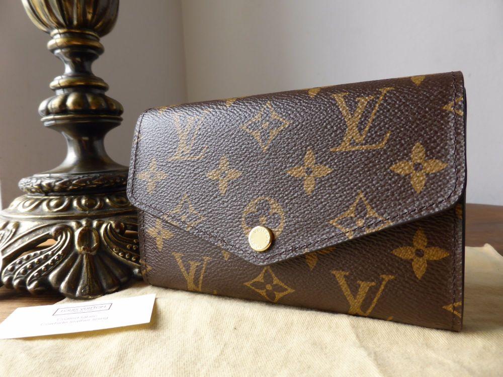 Louis Vuitton Medium Sarah Purse Wallet in Monogram