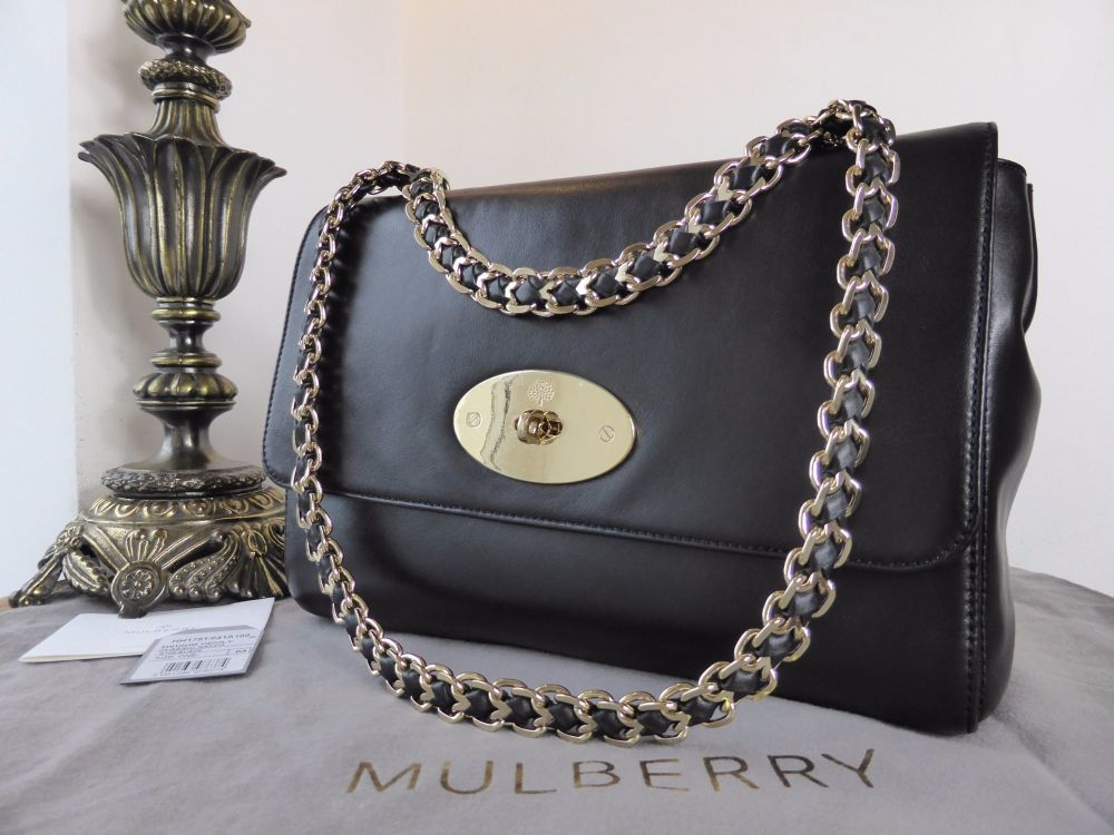 Mulberry Medium Cecily in Black Classic Nappa Leather - New*
