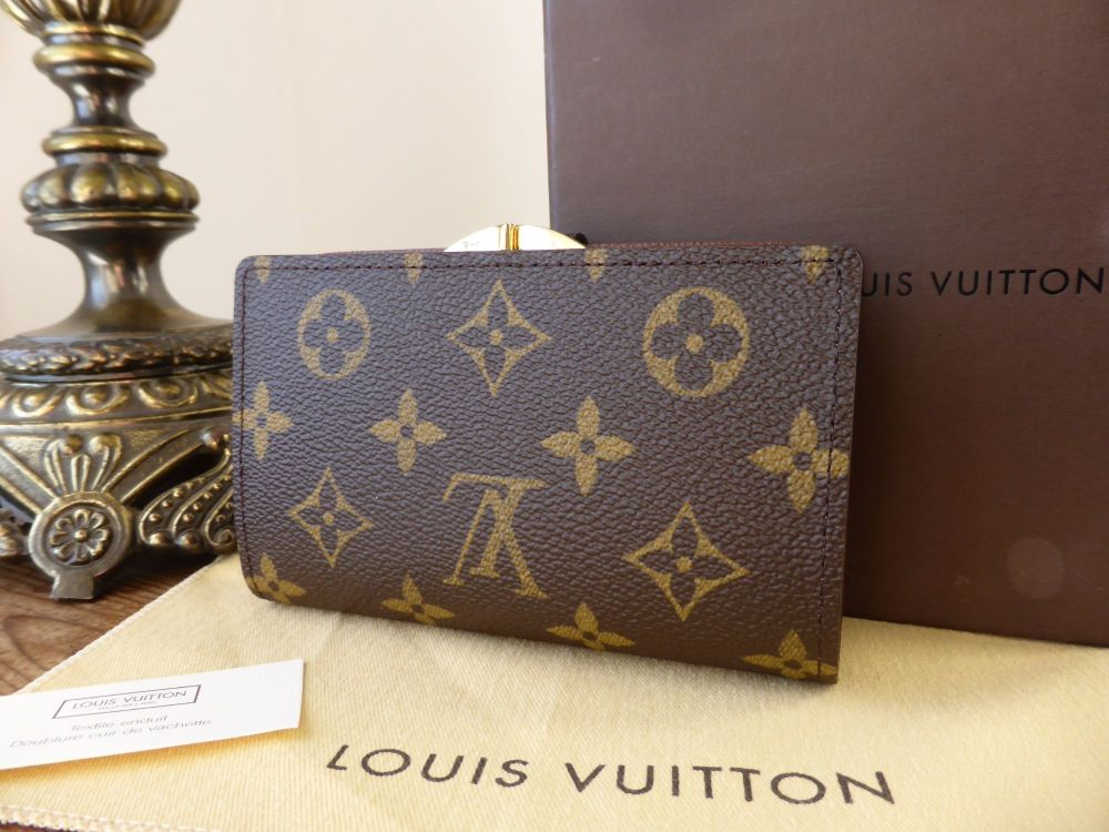 Louis Vuitton French Purse in Monogram - As New