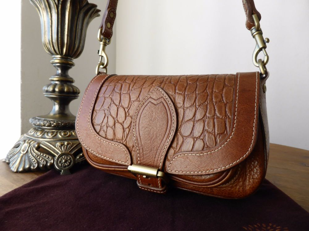 Mulberry Belle in Oak Kenya Leather