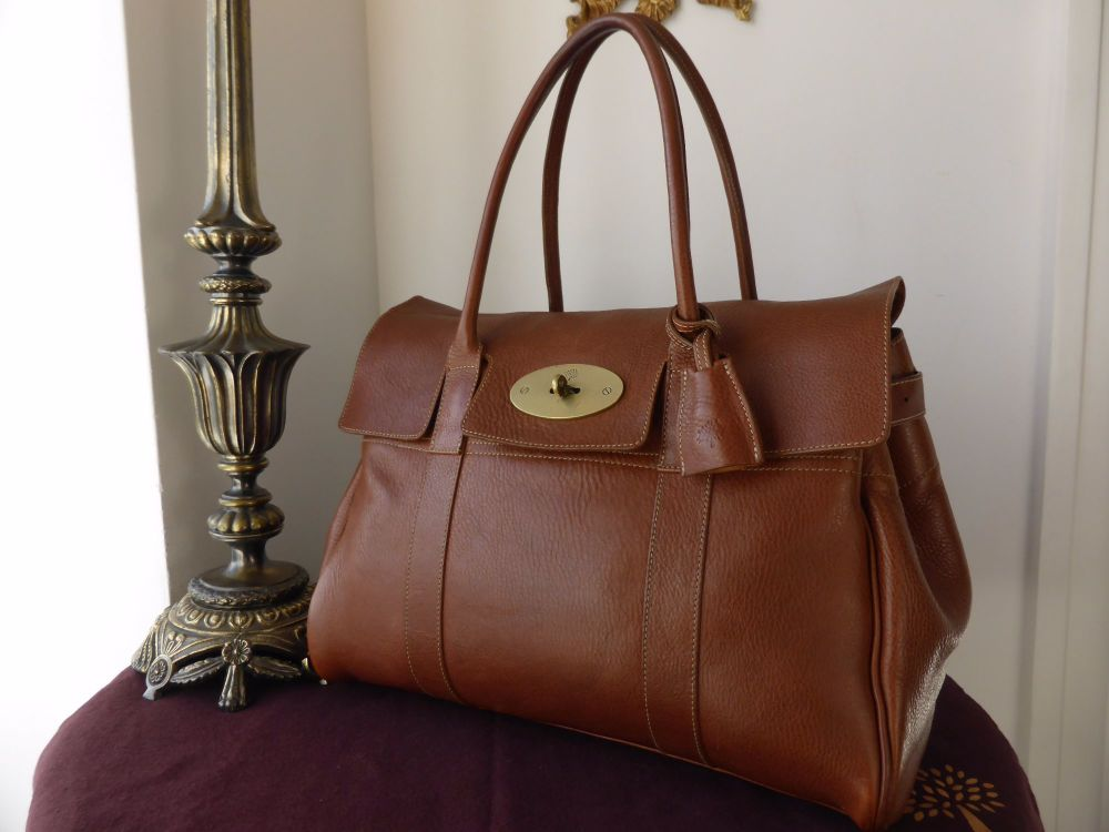 Mulberry Classic Bayswater in Oak Natural Leather