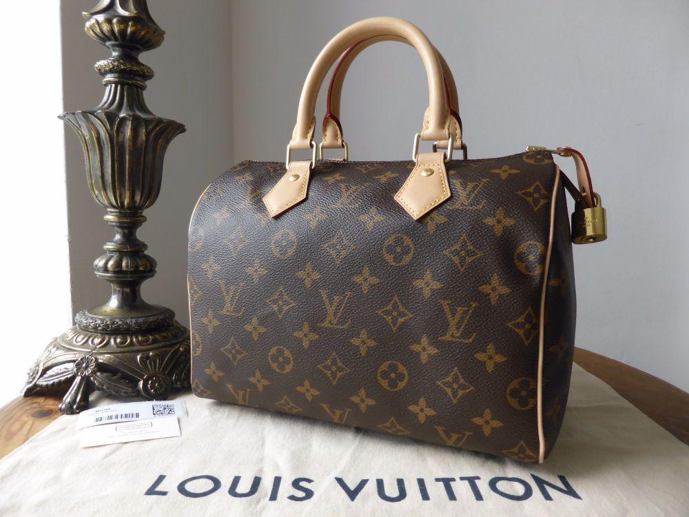 Louis Vuitton Speedy 25 Monogram - As New*