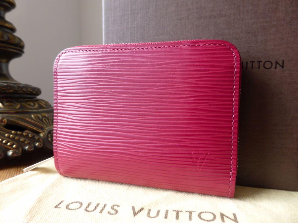 Louis Vuitton Zippy Coin Purse in Fuschia Epi Leather