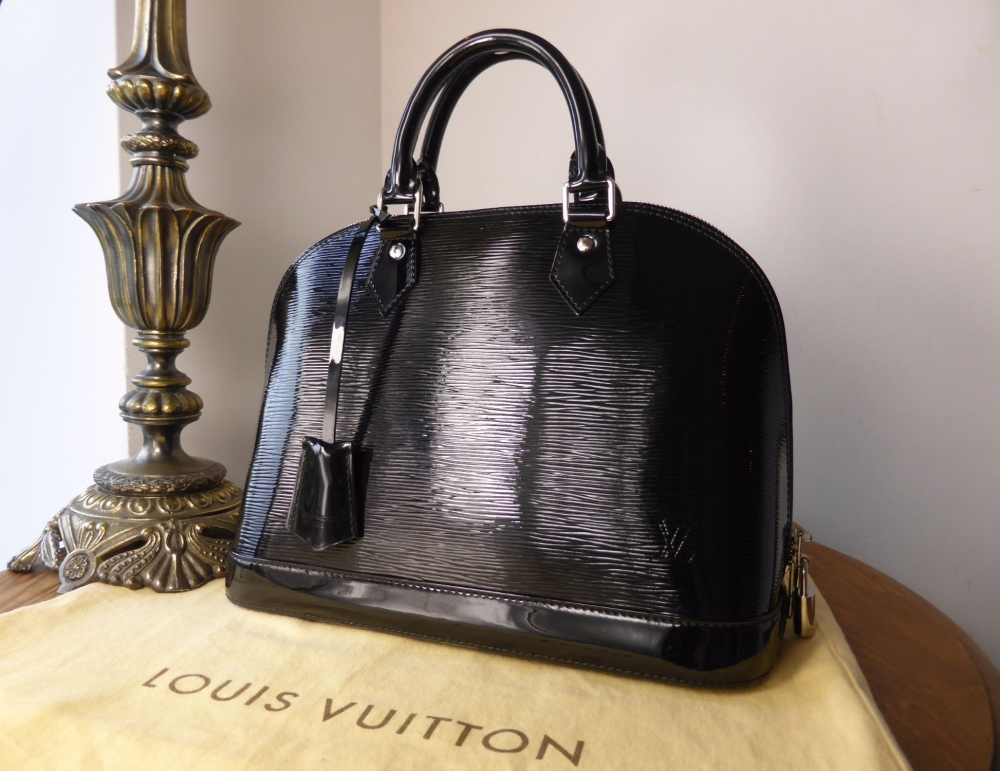 Louis Vuitton Alma PM in Electric Epi Noir