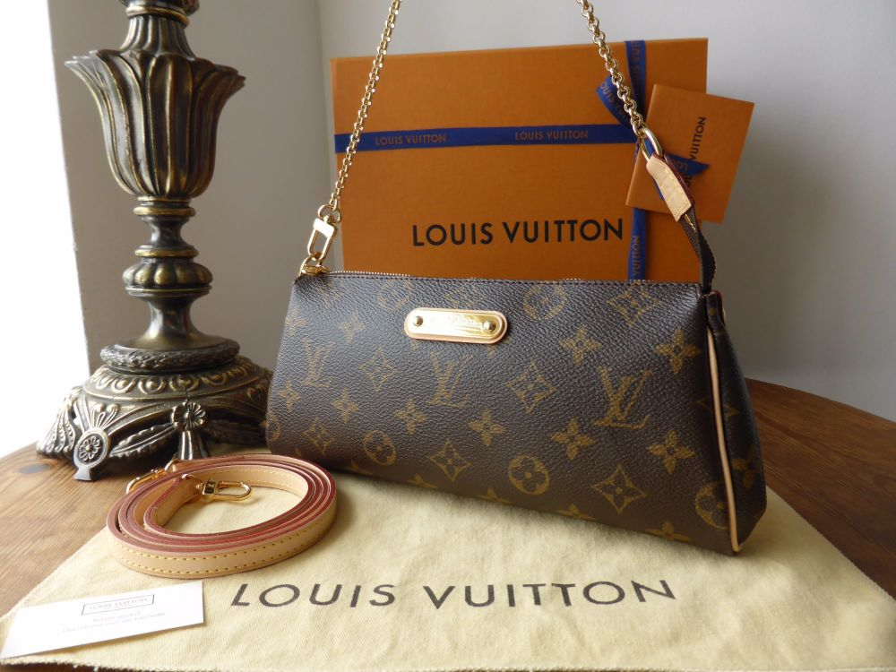 Louis Vuitton Eva in Monogram - As New