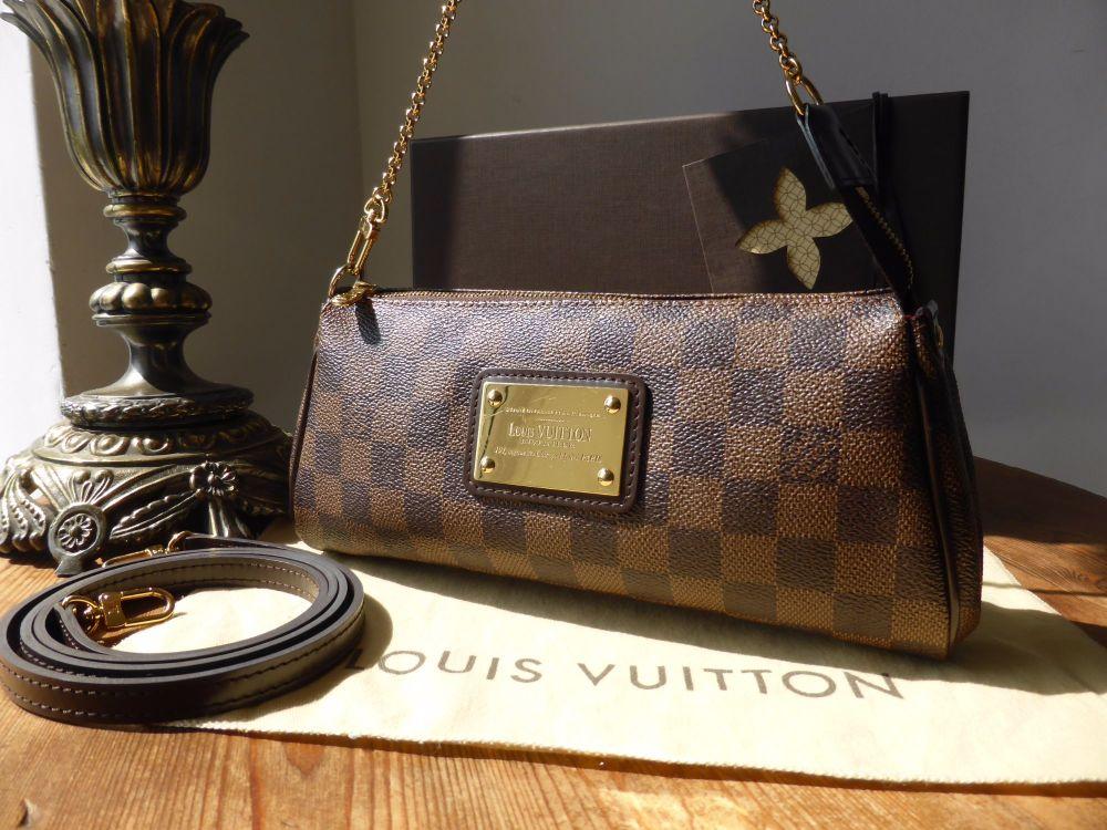 Louis Vuitton Eva Clutch in Damier Ebene