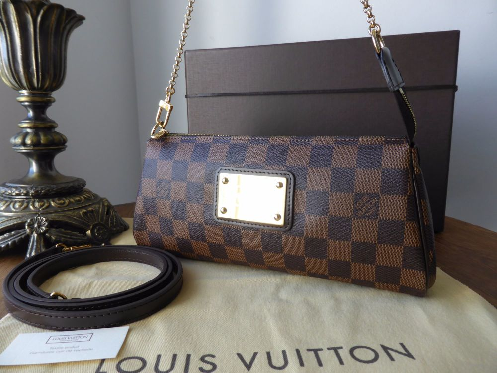 Louis Vuitton Eva in Damier Ebene - New