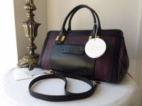 Chloe Alice Medium Patchwork Shoulder Bag in Purple Pansy - New*