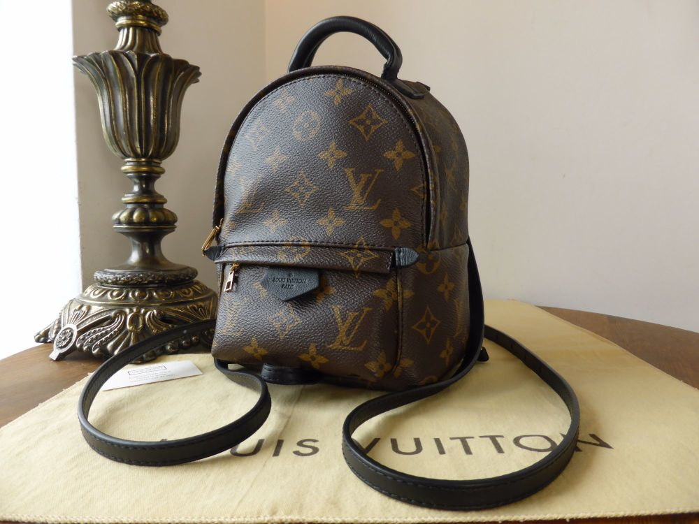 Louis Vuitton Palm Springs Mini Backpack - As New