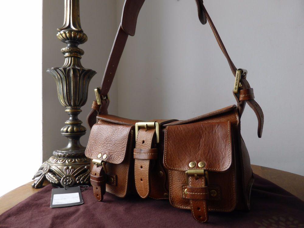 Mulberry Blenheim (Vintage) in Oak Darwin Leather