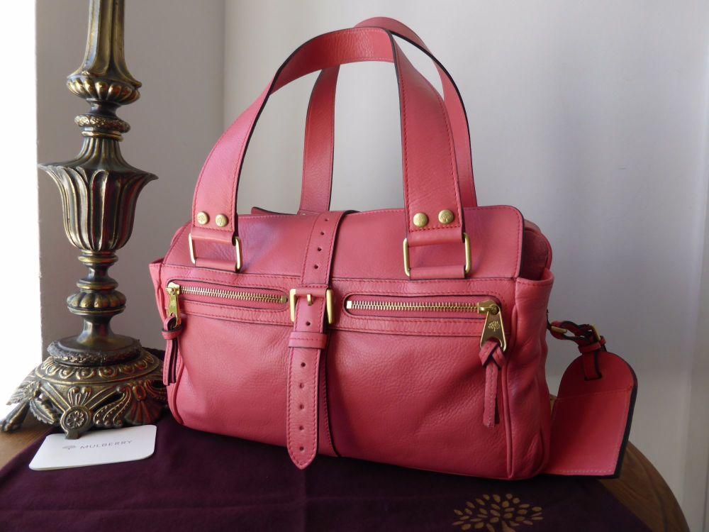 Mulberry Mediul Mabel Lipstick Pink Soft Spongy Leather