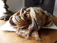 Mulberry Clover Camo Printed Wrap in Foggy Grey and Fudge Bamboo Soya Mix - New*
