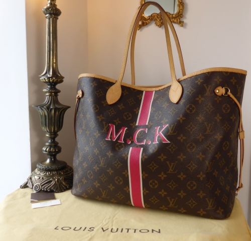 f7f7be04f41e Louis Vuitton Neverfull GM Mon Monogram M.C.K with Fuschia Pink Interior