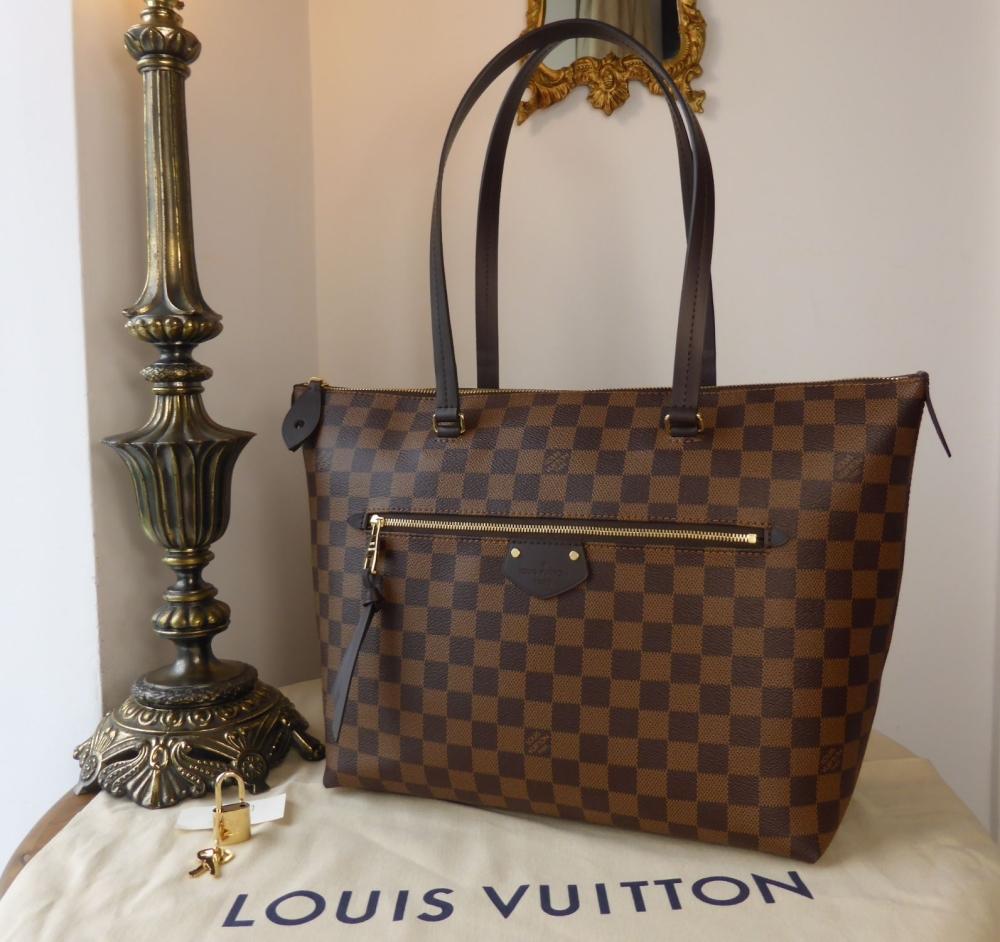 Louis Vuitton Iena MM in Damier Ebene - As New