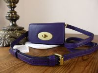 Mulberry Bayswater Mini Messenger in Grape Soft Buffalo - New