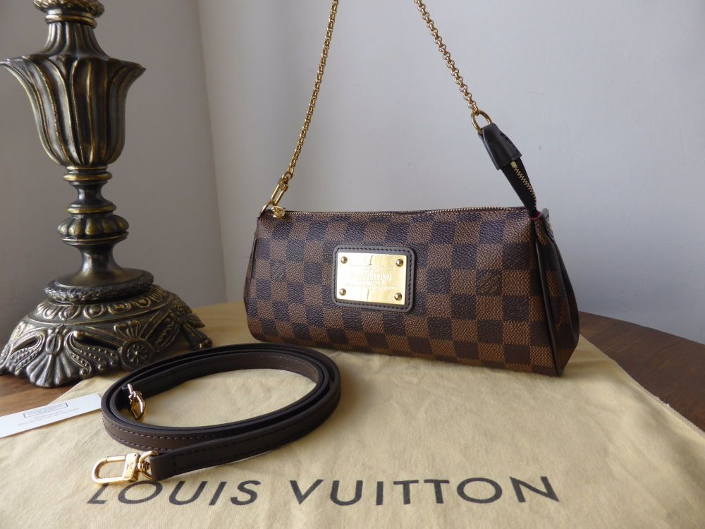 Louis Vuitton Eva in Damier Ebene